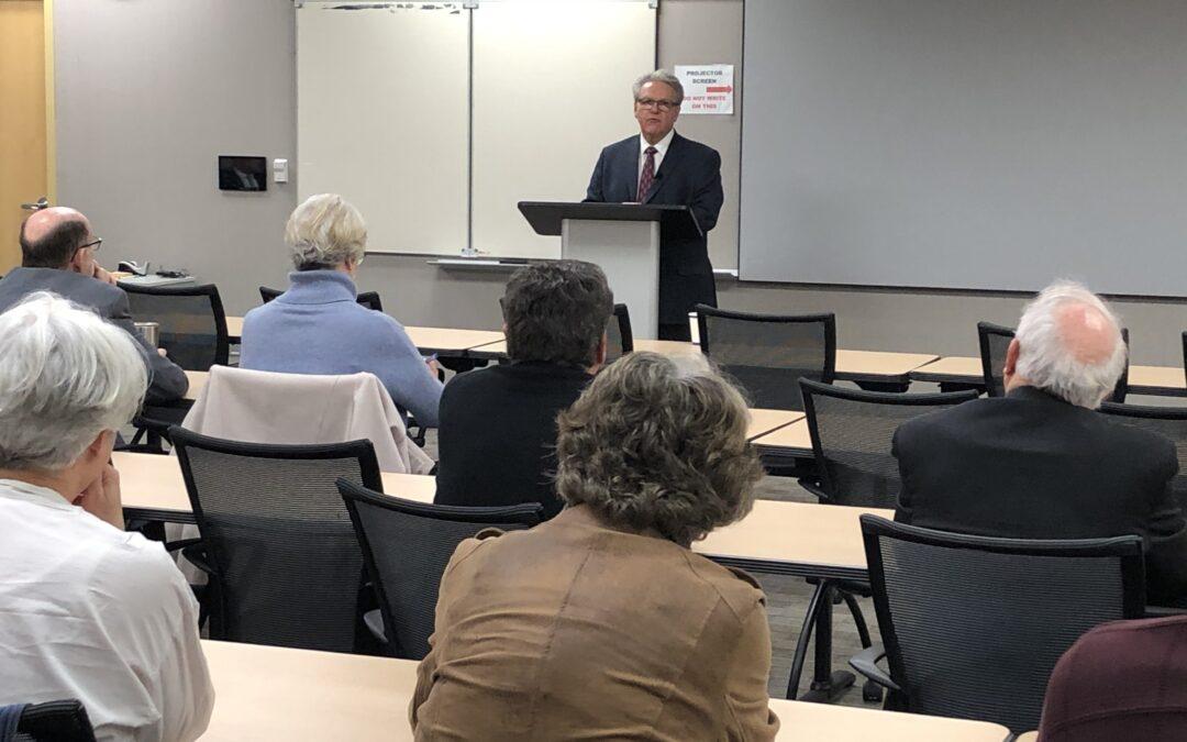 Senator Scheer Speaks at February Water Round Table